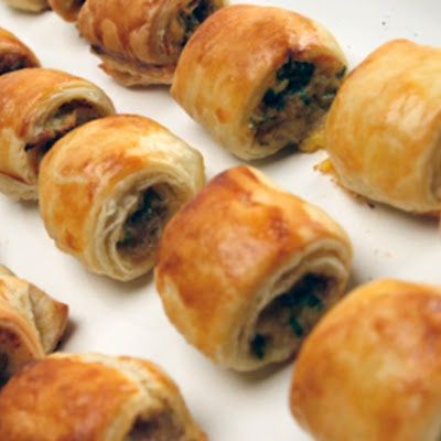 Puff Pastry Sausage Rolls - I make these from scratch and are super yummy and really easy