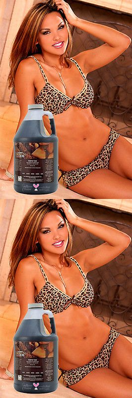 Other Sun Protection and Tanning: Rapid Tan Sunless Airbrush Tanning Solution 64 Oz - Tampa Bay Tan BUY IT NOW ONLY: $59.99
