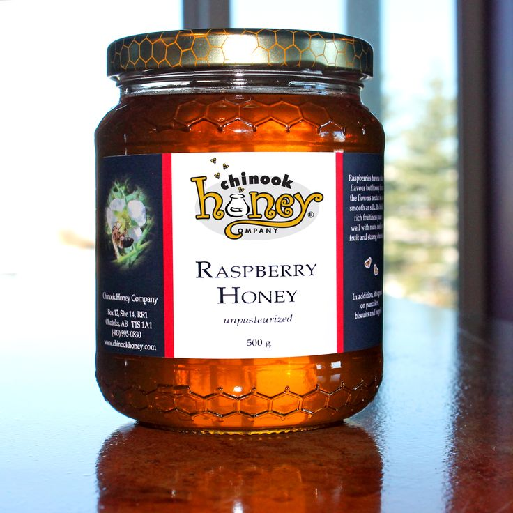 Raspberry #Honey - This raspberry varietal honey is from the lower mainland of BC where fields of raspberries grow in abundance. It has a soft, medium sweet taste, unlike the actual berry. Both fruity yet full, it almost tastes like cotton candy. Its rich flavour is best highlighted in a way that brings it to the fore such as a dessert topping or basting chicken. Sinfully good, I love eating it by the spoonful.