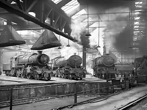 York Engine Sheds 1966