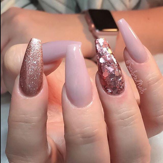 Creepy long nails but I like the pattern