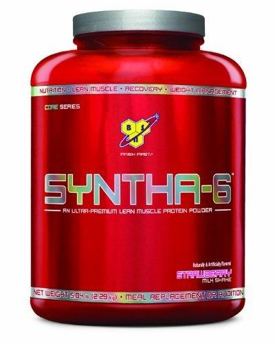 BSN Syntha-6 Protein Powder  Strawberry Milkshake  5.04 Pound: http://www.amazon.com/BSN-Syntha-6-Protein-Strawberry-Milkshake/dp/B002DYJ1D8/?tag=fitcoupons-20
