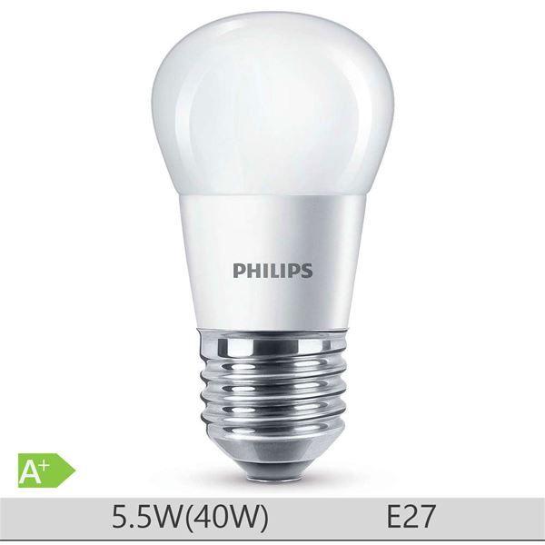 Bec LED Philips 5.5W E27 forma clasica P45, lumina calda https://www.etbm.ro/becuri-led  #led #ledphilips #philips #lighting #etbm #etbmro #philipsled #lightingfixtures #lightingdyi #design #homedecor #lamps #bedroom #inspiration #livingroom #wall #diy #scenes #hack #ideas #ledbulbs
