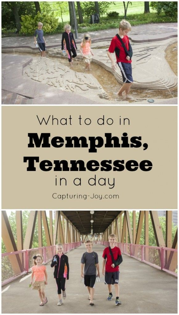 What to do in Memphis Tennessee in a day with your family!  Fun travel tips for Memphis!  Capturing-Joy.com