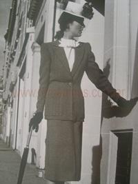 Las Mujeres de las décadas 1940-1950 http://www.femeninas.com/moda-decadas-1940-1950.asp