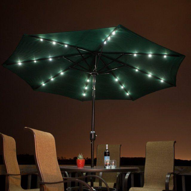 Superior Solar Powered Patio Umbrella