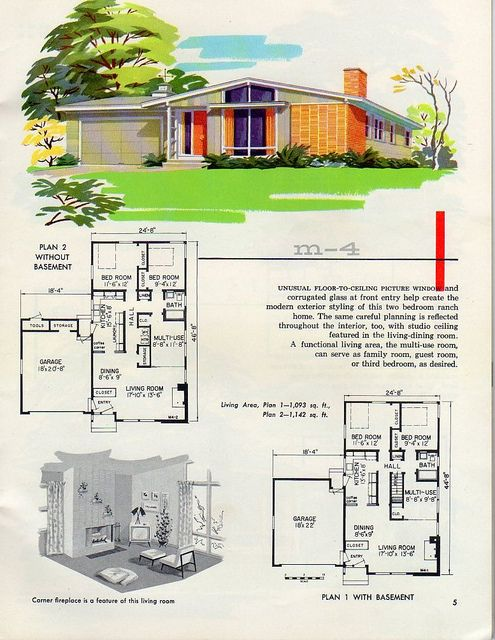 17 best images about mid century house on pinterest mid for 1950s modern house design