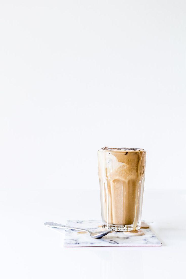 Iskaffe_opskrift_nespressoHomemade iced coffee made with Nespresso