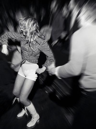 Disco dancing - 1966-67.