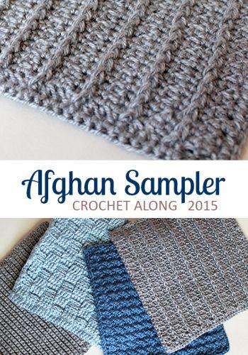 Square 4, Crochet Along Afghan Sampler