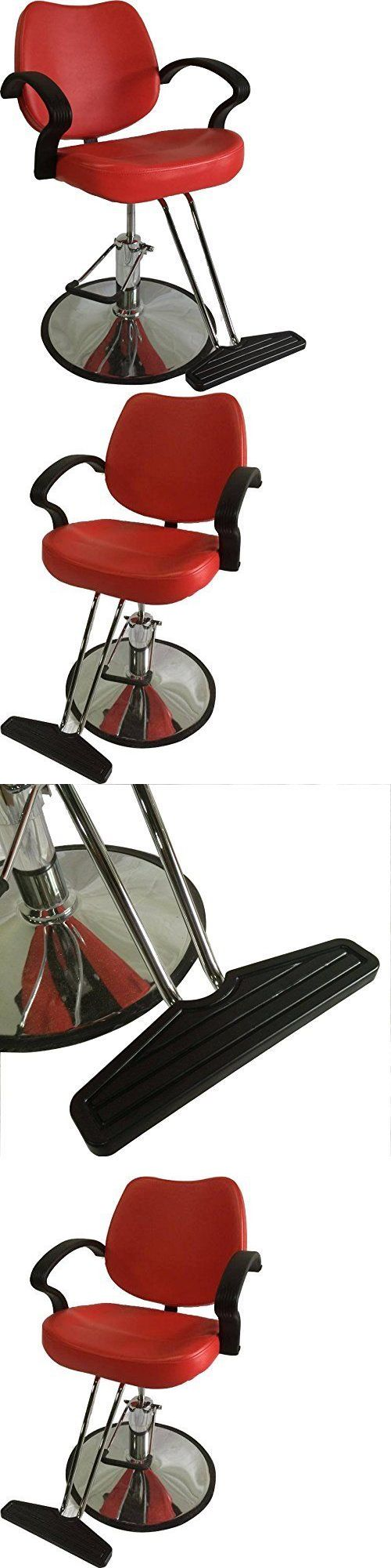 Salon Chairs and Dryers: Classic Hydraulic Styling Barber Chair Salon Equipment Hair Beauty Supply BUY IT NOW ONLY: $88.88