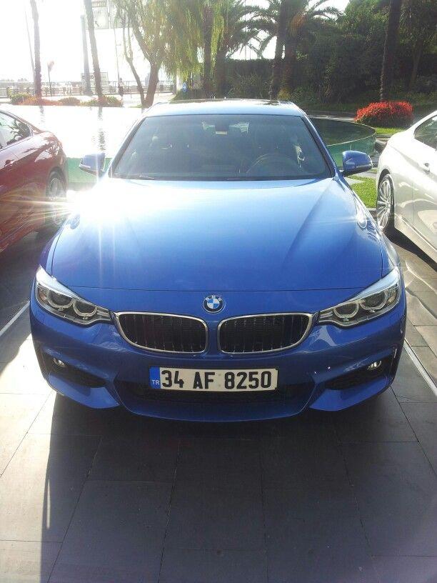 BMW 4 serisi lansmanındayız. DETAYLAR için takipte kalın..