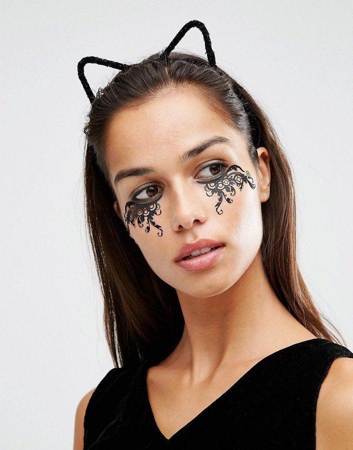 22 Accessoires Pour un Halloween Chic, Sexy, et Branché  Johnny Loves Rosie Katy - Bandeau  oreilles de chat d'halloween en fine fourrure - Noir (16€)