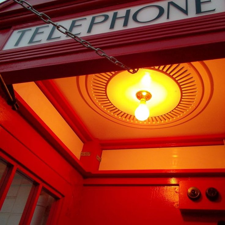 How to make the light in a K2 red telephone box