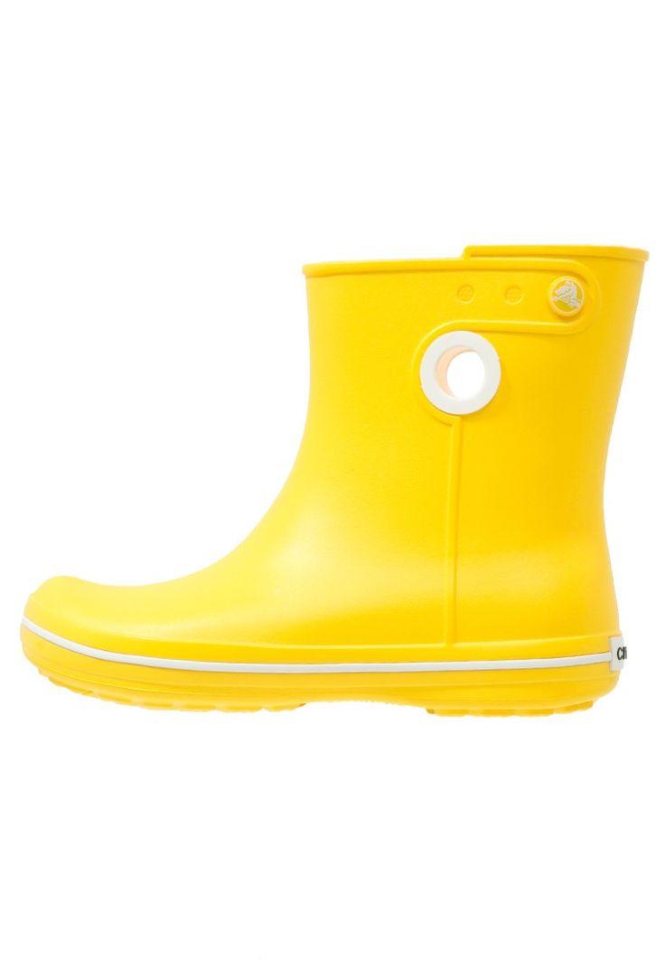 Crocs JAUNT Kalosze żółte krótkie yellow
