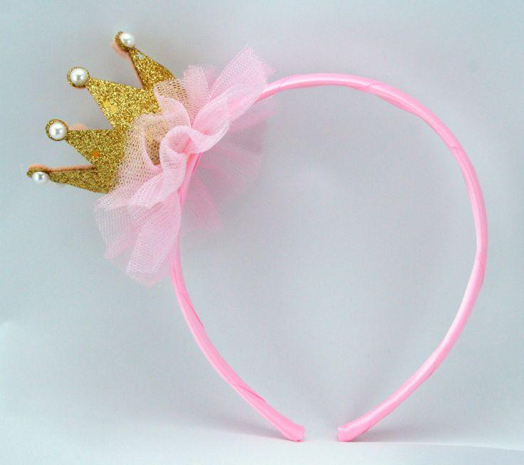 Pink Princess Headband Tiara/ Crown Headband, Princess Crown, Pink Princess Party Favors, Princess Costume, Girl Headband, Party Favors by MyPartyStory on Etsy https://www.etsy.com/listing/205697529/pink-princess-headband-tiara-crown