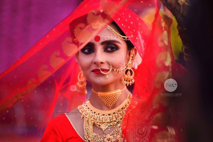 Bengali bridal makeup by swarup Sarkar