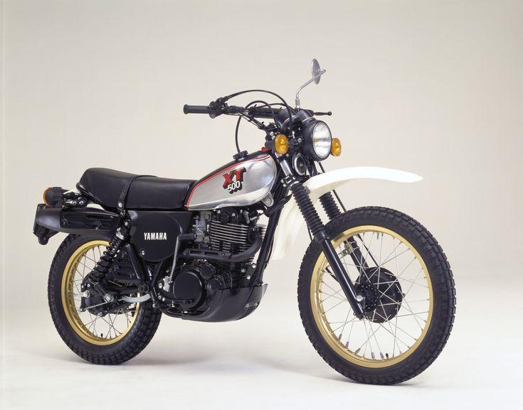 Yamaha XT 500.