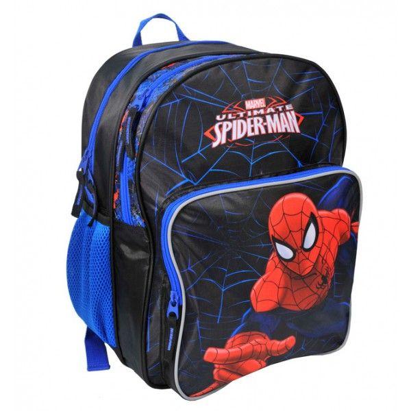 Spiderman rygsæk i kraftig kvalitet og med rigtig god plads.