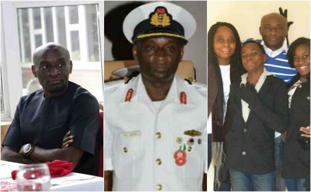 The Fleet Commander, Western Naval Command, Apapa, Lagos State, Rear Admiral Daniel Ikoli, alleg...