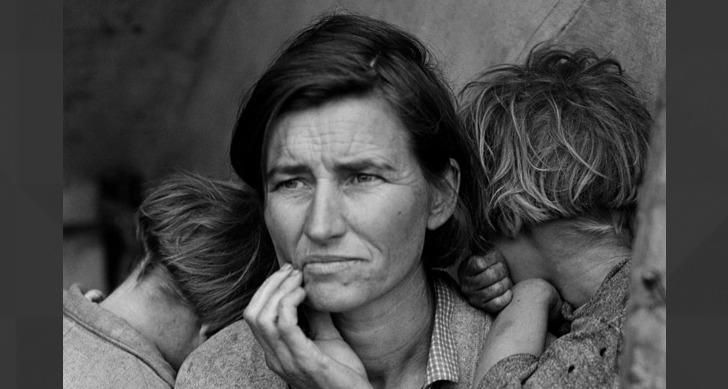 The face of the Dust Bowl    Oklahoma    1938???