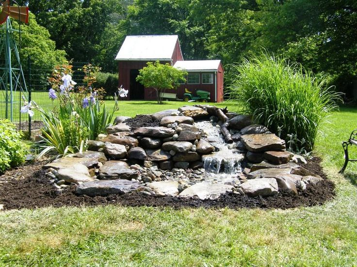 Image result for pondless waterfall on flat yard ...