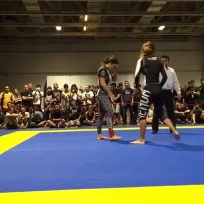 ONE Grappling Challenge Macao // Angela Lee vs. Michelle Nicolini