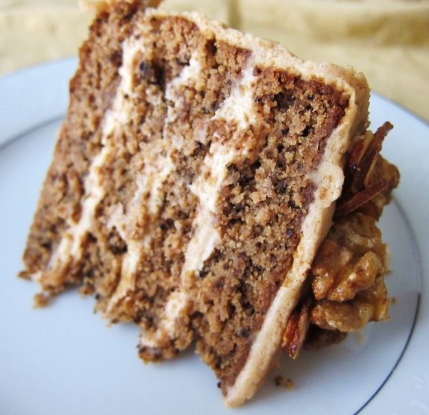 Gluten-Free & Vegan Maple Nut Cake   23 Gorgeous Gluten-Free Thanksgiving Desserts