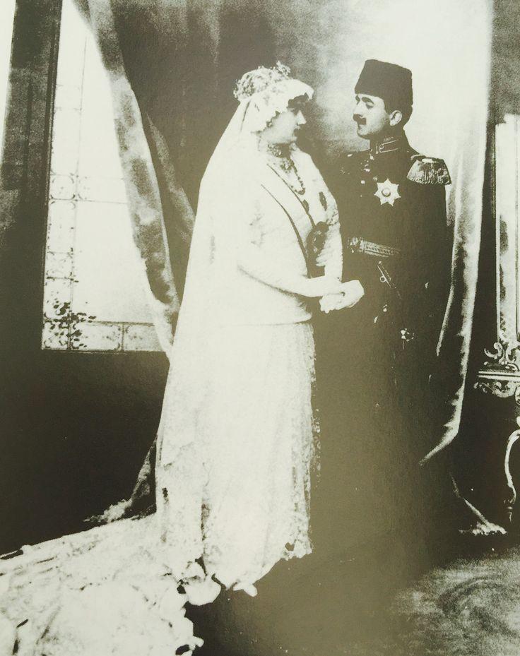 Enver Paşa ile Naciye Sultan düğün fotoğrafı.