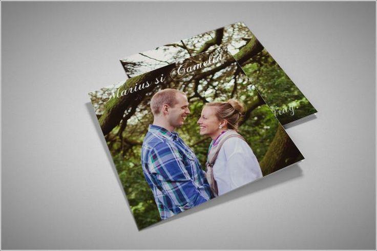 Invitatie de nunta cu fotografie/fotografii.
