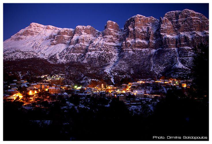 Papigo Sunset Snow 1h January 2012 dimitrisgol Χριστούγεννα 2014, ταξίδι στη στολισμένη Ελλάδα