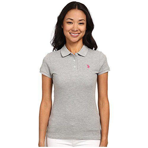 (ユーエスポロアソシエーション) U.S. POLO ASSN. レディース トップス 半袖シャツ Solid Small Pony Polo 並行輸入品  新品【取り寄せ商品のため、お届けまでに2週間前後かかります。】 表示サイズ表はすべて【参考サイズ】です。ご不明点はお問合せ下さい。 カラー:Grey 詳細は http://brand-tsuhan.com/product/%e3%83%a6%e3%83%bc%e3%82%a8%e3%82%b9%e3%83%9d%e3%83%ad%e3%82%a2%e3%82%bd%e3%82%b7%e3%82%a8%e3%83%bc%e3%82%b7%e3%83%a7%e3%83%b3-u-s-polo-assn-%e3%83%ac%e3%83%87%e3%82%a3%e3%83%bc%e3%82%b9-%e3%83%88/