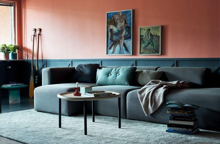 Interior by Daniel Heckscher from @noteds #blue #coral