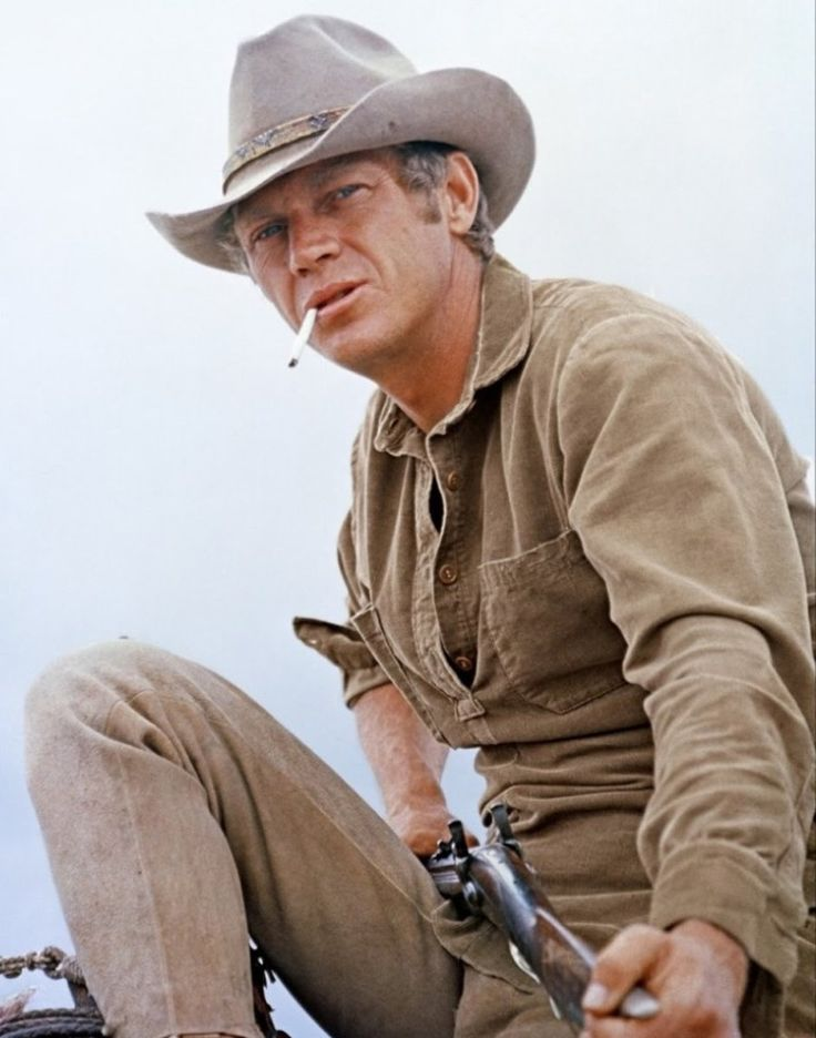 Steve McQueen in Nevada Smith.