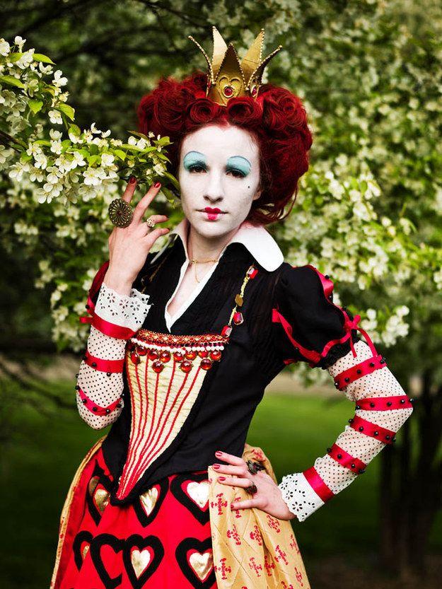Queen Of Hearts Tim Burton Makeup