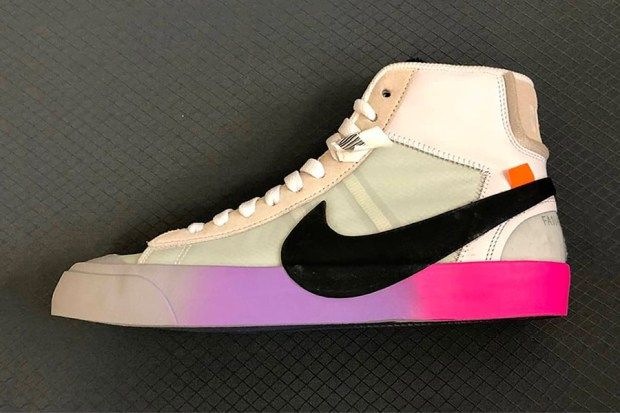 An On Foot Look at the Off White™ x Nike Blazer