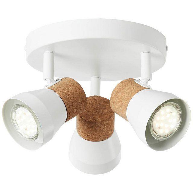 Brilliant Leuchten Moka Spotrondell 3flg Weiss Matt Braun Online Kaufen Otto Brilliant Leuchten Led Leuchtmittel Leuchten