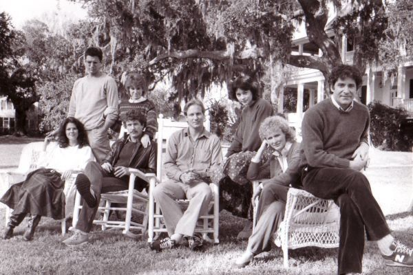 Still of Jeff Goldblum, Kevin Kline, Tom Berenger, Glenn Close, William Hurt, Meg Tilly, JoBeth Williams and Mary Kay Place in The Big Chill