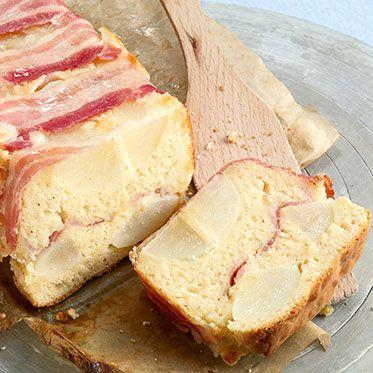 Birnen-Speck-Cake #cake