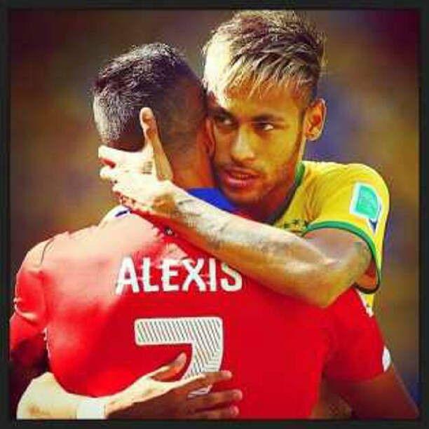 #Neymar #AlexisSanchez
