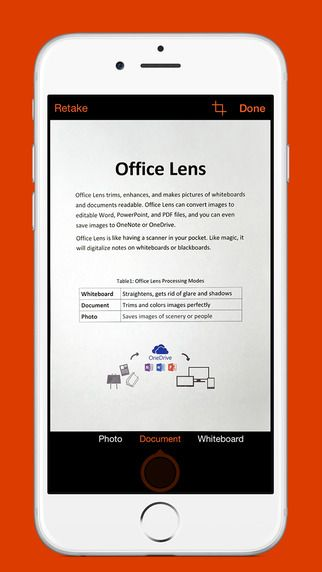 Just in case you have not heard of Office Lens before, the app can scan any document or whiteboard and its Optical Character Recognition (OCR) software will allow it to turn those images into actual documents in JPG, PDF, Word or PowerPoint form. #apps #mobileapps