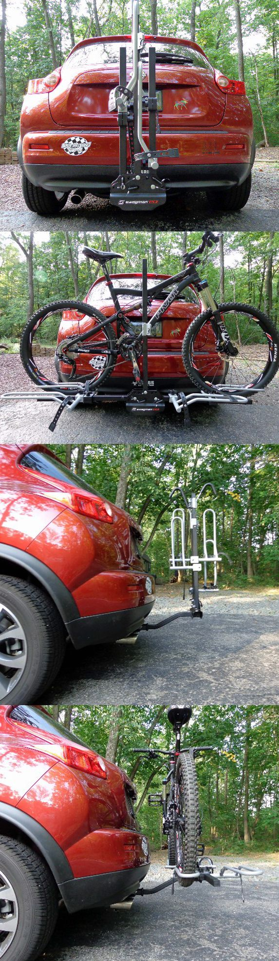 Swagman xtc 2 2 bike platform rack for 1 1 4 and 2 trailer hitches