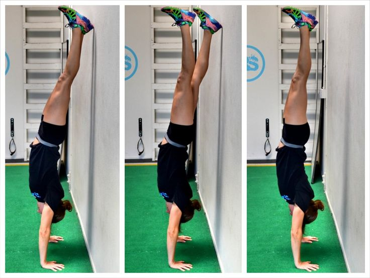 How to do a Handstand Handstand, Workout, Fit board workouts