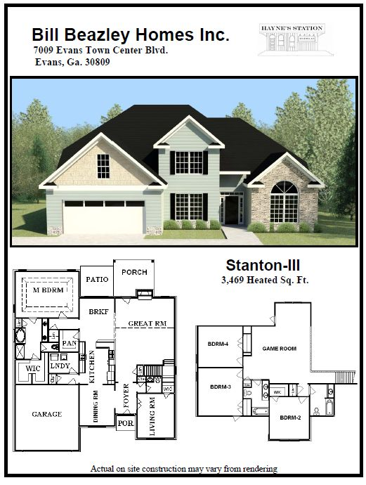 14 best retreat at storm branch images on pinterest for Builders plan service augusta ga