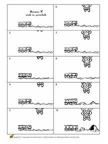Le Folioscope, aussi appelé Flip Book se présente comme un petit carnet, à l'origine plutôt agrafé. On le tient d'une main et on l'effeuille de l'autre avec le pouce, de l'avant vers l'arrière ou de l'arrière vers l'avant. Les images ou dessins qu'il contient donnent l'illusion d'être ainsi animés plus ou moins rapidement selon la vitesse à laquelle on le manipule. Hugo te propose de créer des dessins animés avec tes Flip Books.