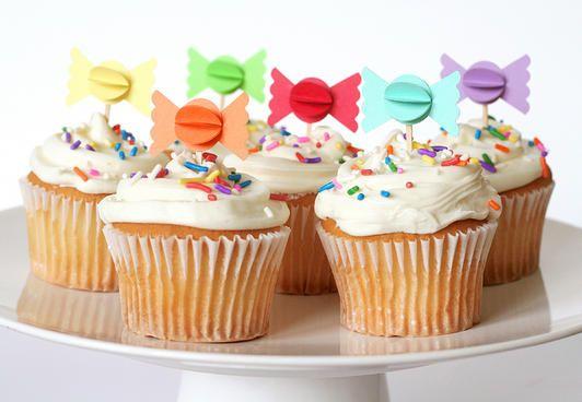 Candy Cupcakes www.fiskars.com