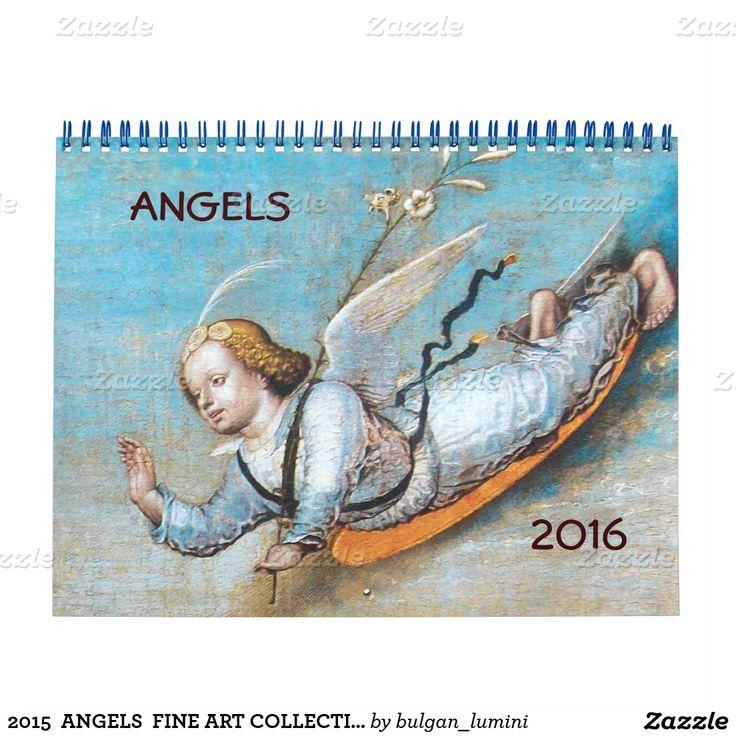 2016  ANGELS  FINE ART COLLECTION 3 CALENDAR