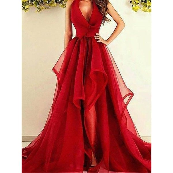 Long Prom Dresses liked on Polyvore featuring dresses ...