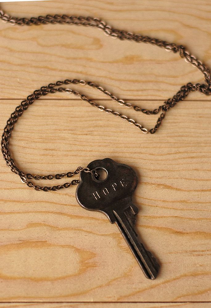 The Giving Keys Hope Necklace