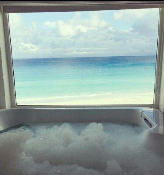 Bathtub view at Le Blanc Cancun